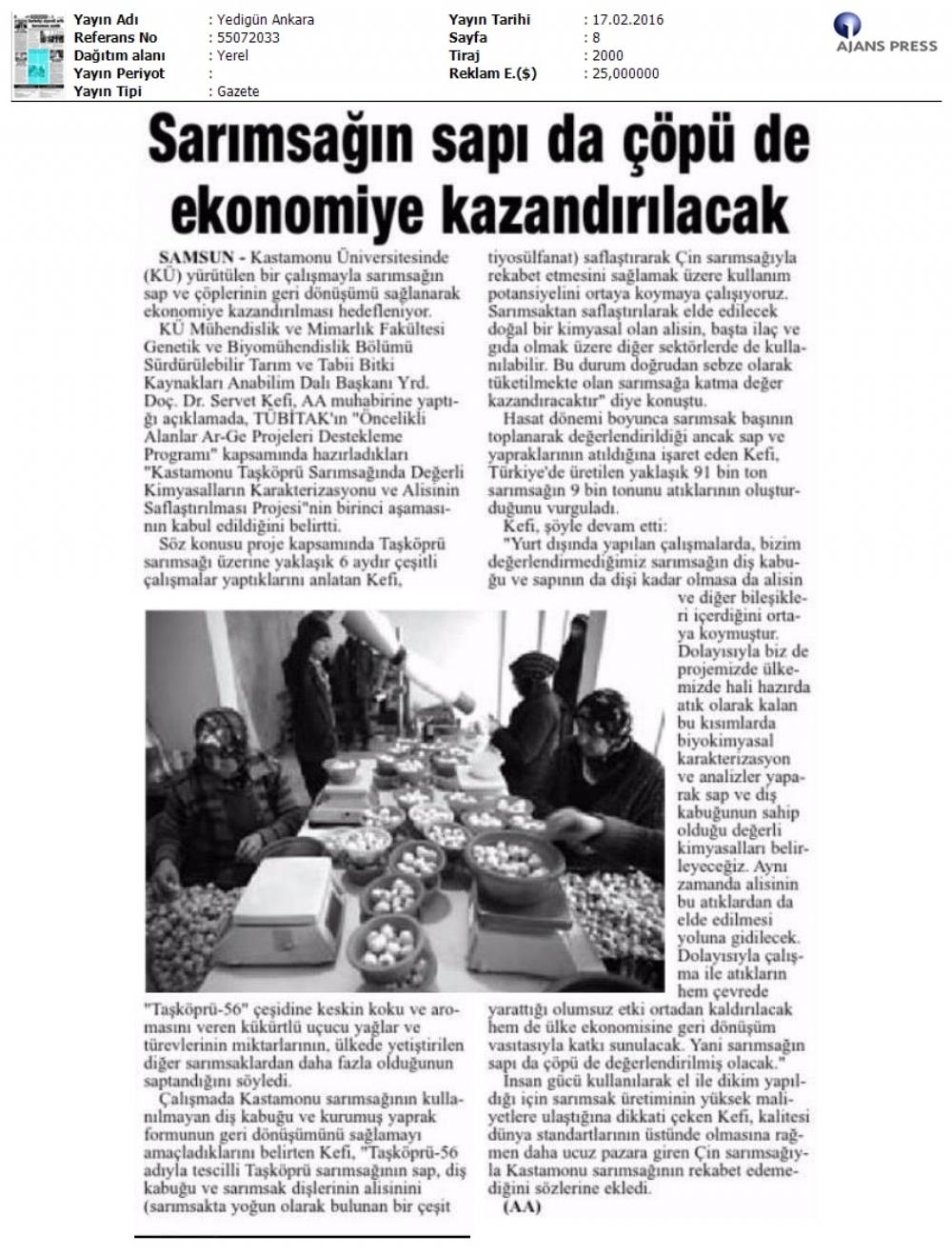 Yedi Gün Gazetesi