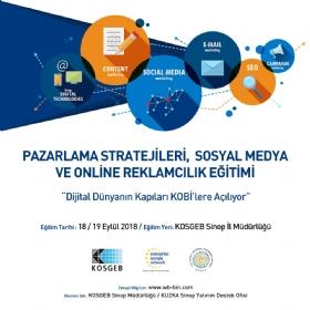 Sinop'ta Sosyal Medya ve Online Reklamcýlýk Eðitimi