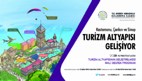 2019 Yýlý Turizm Altyapýsýnýn Geliþtirilmesi Mali Destek Programý