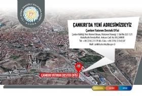 Çankýrý Yatýrým Destek Ofisi Yeni Adresi