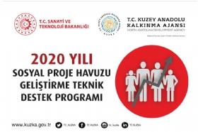 2020 Yýlý Sosyal Proje Havuzunu Geliþtirme Teknik Destek Programý