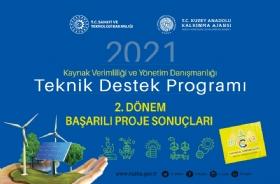 2021 Yýlý Teknik Destek Programý Baþarýlý Projeler Belli Oldu!