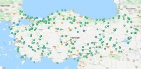 Türkiye'deki Potansiyel Karavan Alanlarý Belirlendi