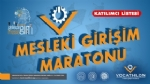 """Vocathlon 2020: Mesleki Giriþim Maratonu"""" Programý Katýlýmcýlarý Belirlendi"""