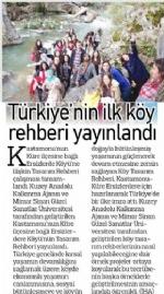 Türkiye'nin Ýlk Köy Tasarým Rehberi Yayýnlandý!
